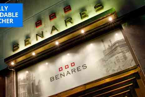 Benares Restaurant & Bar - Michelin listed Mayfair Indian 3 courses & cocktail - Save 41%
