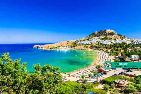 Weekender Breaks - An all inclusive Rhodes, Greece hotel stay with return flights - Save 22%