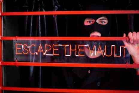 Escape The Vault - Escape Game and Drink for Four - Save 19%