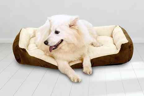 Direct Sourcing - Small sized deluxe dog bed - Save 0%