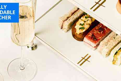 The Harrods Tea Rooms - Champagne afternoon tea for 2 - Save 37%