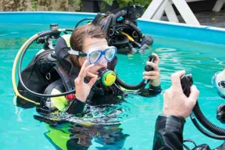 Fins - PADI Scuba Diver Course for One - Save 50%