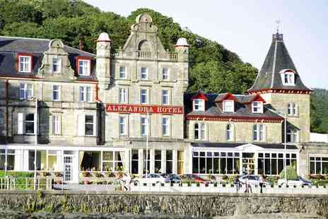 The Alexandra Hotel - An Oban, Argyll stay for two with a continental breakfast - Save 37%