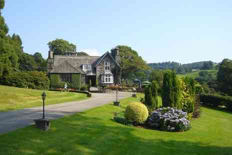 Broadoaks Country House - Troutbeck, Lake District stay for two with cream tea, four course dinner, breakfast - Save 30%