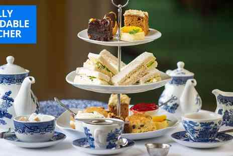 Nunsmere Hall Hotel - Afternoon tea for 2 at idyllic Cheshire manor - Save 29%