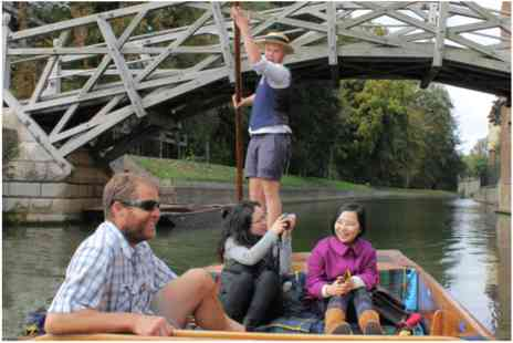Virgin Experience Days - Chauffeured Cambridge Punting Tour for up to Three - Save 0%