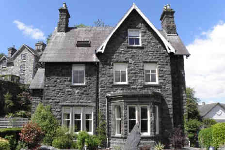 Ffynnon - A Snowdonia National Park, Wales stay for two people with breakfast - Save 55%