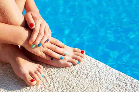 Beautyque and Hairdressing - Shellac Manicure or Pedicure - Save 0%