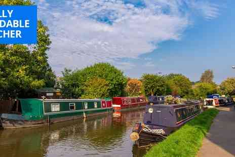 Skipton Boat Hire - Afternoon tea and canal cruise for 2 in Yorkshire - Save 40%