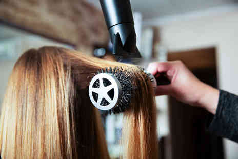 Beautyque and Hairdressing - Wash, cut, blow dry and half head highlights - Save 63%