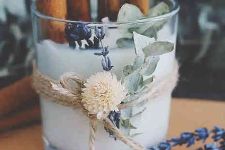 Token Studios - Aromatherapy soy candle and crystal workshop - Save 19%