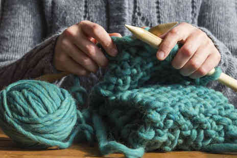 Token Studios - Knitting or crocheting workshop for one - Save 43%