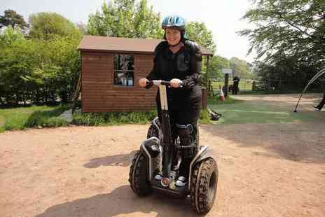 Madrenaline Activities - One hour Segway obstacle course experience for one person - Save 46%