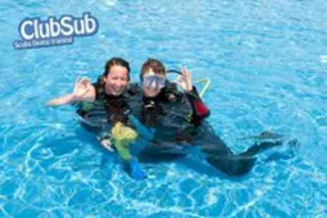 Clubsub - A PADI Scuba Diving Open Water Referral Course including all tuition & equipment - Save 62%
