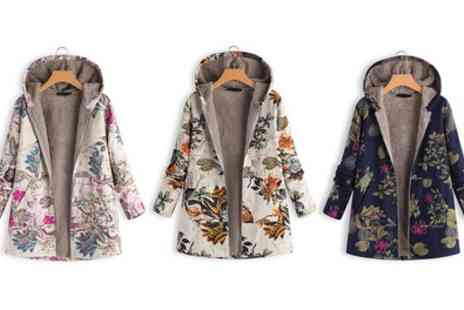 Groupon Goods Global GmbH - Printed Womens Jacket - Save 43%