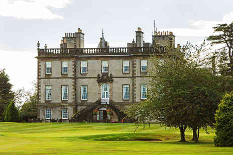 Dalmahoy Hotel & Country Club - Edinburgh stay for two with a bottle of Prosecco to share and breakfast - Save 0%