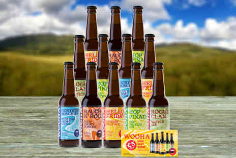 WooHa Brewing Company - Wee Taste Of The Highlands beer hamper - Save 56%
