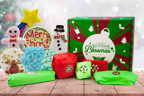 Bathtime Boutique - 12 Days of Bathtime Blissmas advent calendar - Save 75%