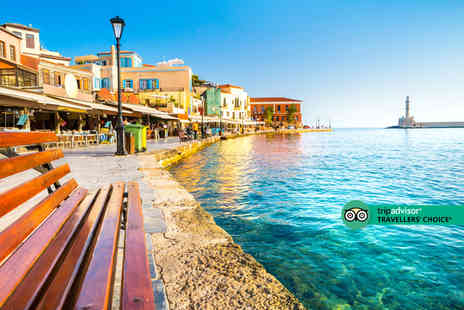 Super Escapes Travel - An all inclusive Crete, Greece hotel stay with return flights - Save 53%