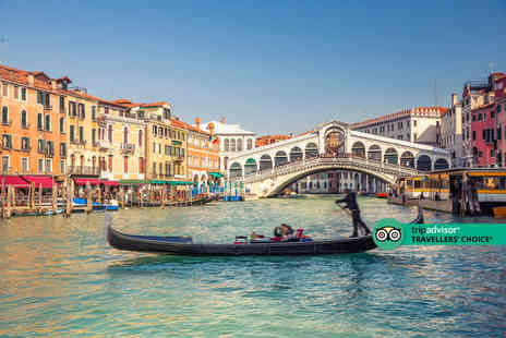 Super Escapes Travel - A Venice, Italy hotel stay with return flights - Save 47%