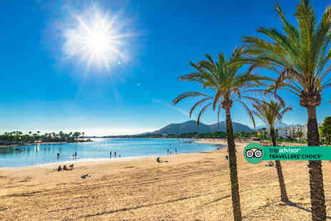 Super Escapes Travel - An all inclusive Mallorca, Spain hotel stay with return flights - Save 34%