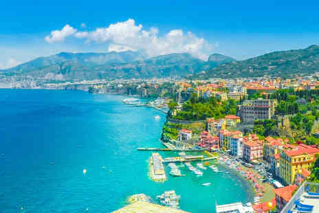 Weekender Breaks - A Naples and Sorrento, Italy twin city break with coach transfers and return flights - Save 38%