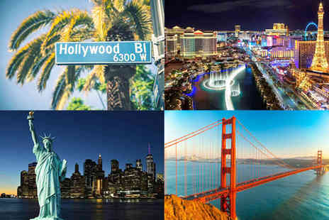 Weekender Breaks - A New York, San Francisco, Los Angeles and Las Vegas multi city hotel stay - Save 33%