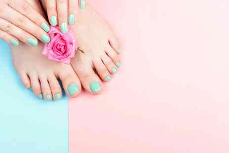 LJC Hair & Beauty Salon - Luxury manicure and pedicure - Save 66%