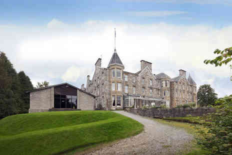 Pitlochry Hydro Hotel - A Pitlochry, Scotland stay for two people with breakfast and two course dinner - Save 39%