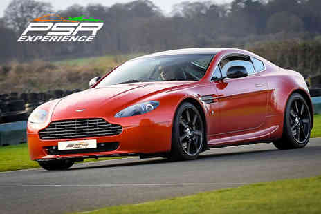 PSR Experience - Aston Martin V8 Vantage driving experience - Save 0%