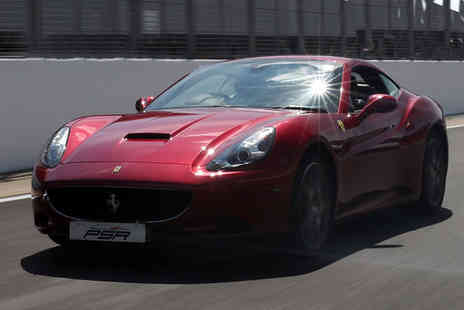 PSR Experience - One lap supercar driving experience in a Ferrari - Save 51%