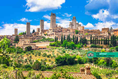 Weekender Breaks - A Siena, Italy hotel stay with return flights from six airports - Save 24%