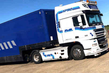 PSR Experience - Lorry driving experience in a DAF XF 510 BHP - Save 61%