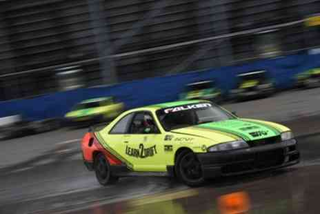 Learn2Drift - Half Day Drifting Experience with Three or Six Passenger Laps - Save 70%