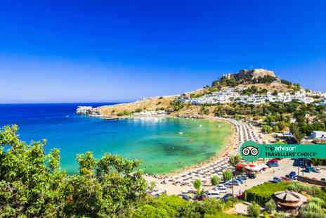 Bargain Late Holidays - An all inclusive Rhodes, Greece hotel stay with return flights - Save 38%