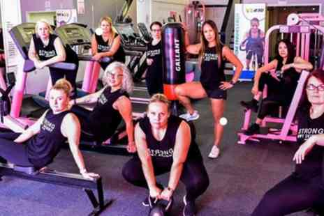 Girls Allowed Gyms - One Month Gym Membership with Two Personal Training Sessions - Save 86%