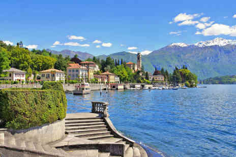 Bargain Late Holidays - A Lake Como, Italy hotel stay with return flights - Save 22%