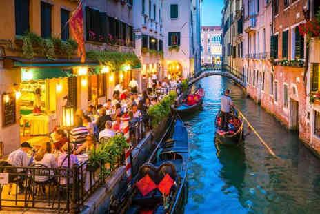 Weekender Breaks - A Venice, Italy stay with breakfast - Save 47%