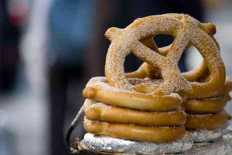 Auntie Annes - Sweet or Savoury Pretzel and Hot or Cold Drink - Save 40%