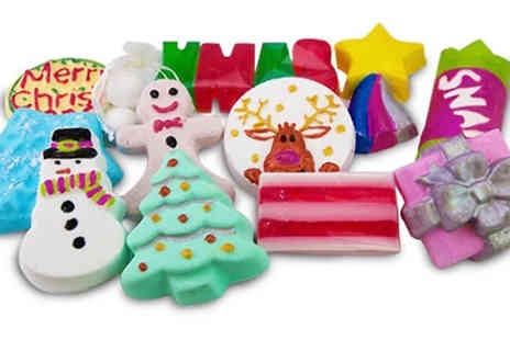 Bathtime Boutique - 12 Days of Christmas Bath Bombs Calendar - Save 77%