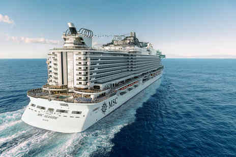 Cruise Circle - A full board MSC Mediterranean cruise with gratuities, a Sorrento, Italy hotel stay with breakfast - Save 28%