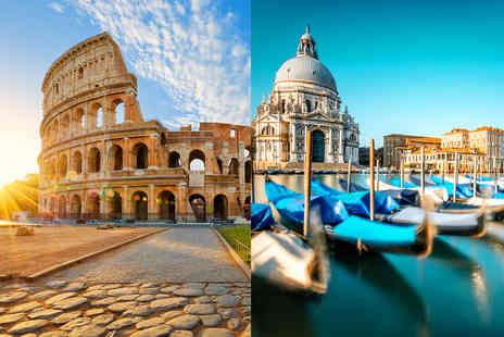 Weekender Breaks - A Rome and Venice, Italy multi city holiday with breakfast - Save 46%