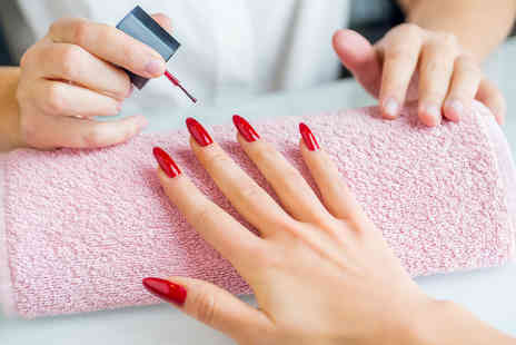 Abella Unisex Hair and Beauty - Shellac manicure and pedicure - Save 40%