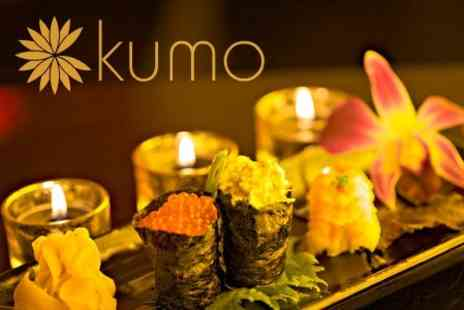 Kumo - Sushi Platter and Desserts For Two People - Save 57%