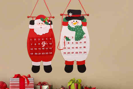 Bellap - One Christmas hanging advent calendar - Save 33%