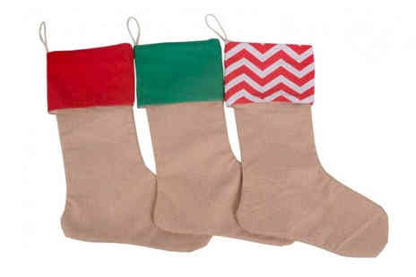 Bellap - One pack of christmas stocking decorations - Save 53%