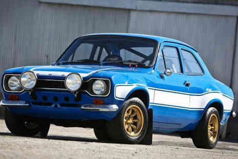 Car Chase Heroes - MK1 Escort driving experience for up to three miles - Save 81%