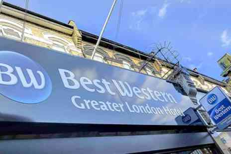 Best Western Greater London Hotel - Double or Family Room for Up to Four with Breakfast - Save 17%