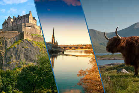 Bundled Deals - Three nights Scottish stay cation for two people including a one night stay - Save 51%