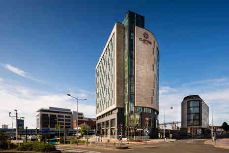 Clayton Hotel Cardiff - Cardiff stay for two with three course dinner, one glass of Prosecco each and breakfast - Save 26%
